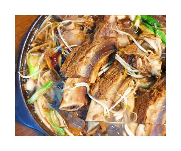 경북경산 청경 전통 국물소갈비찜(간장) 2.4kg